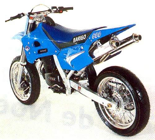 BARIGO Supermotard 600 specs - 1990, 1991 - autoevolution