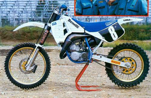 Review of Benelli BX 125 Enduro 1988: pictures, live