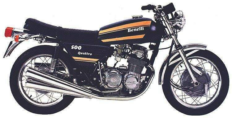 Review of Benelli 654 Sport 1986: pictures, live photos