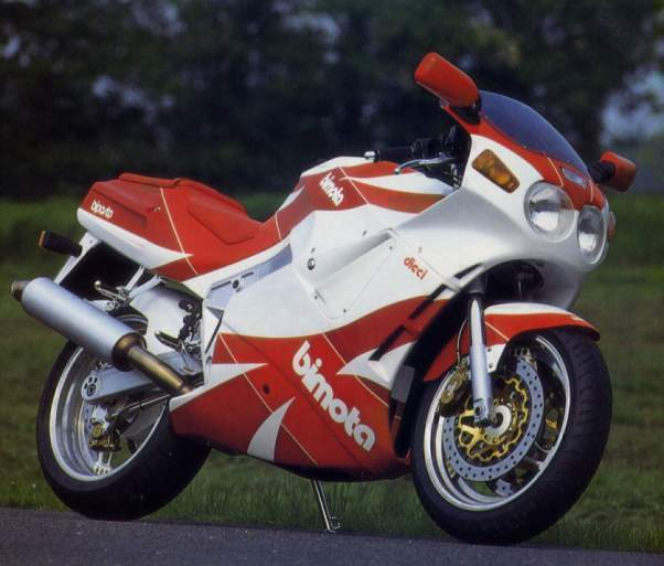1991 Bimota YB 10 Dieci: pics, specs and information