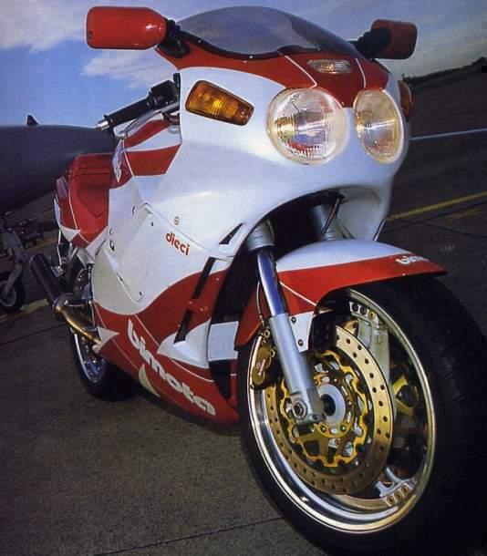 1990 Bimota YB 10 Dieci: pics, specs and information
