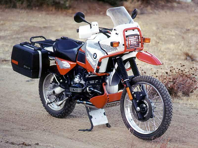 Bmw R 100 Gs Paris Dakar Specs 1987 1988 Autoevolution