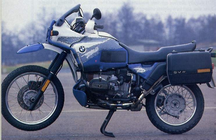 bmw r 100 gs paris dakar specs - 1994, 1995 - autoevolution