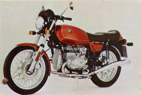 BMW R 45 specs - 1979, 1980 - autoevolution