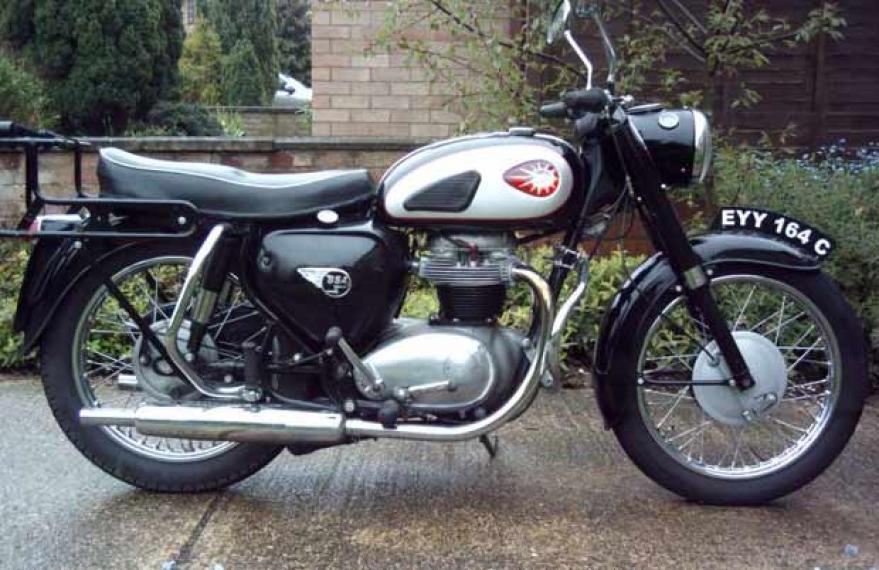 BSA A 65 Royal Star 1962