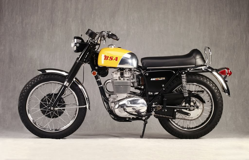 Bsa B44 Victor Special Specs 1968 1969 1970 1971