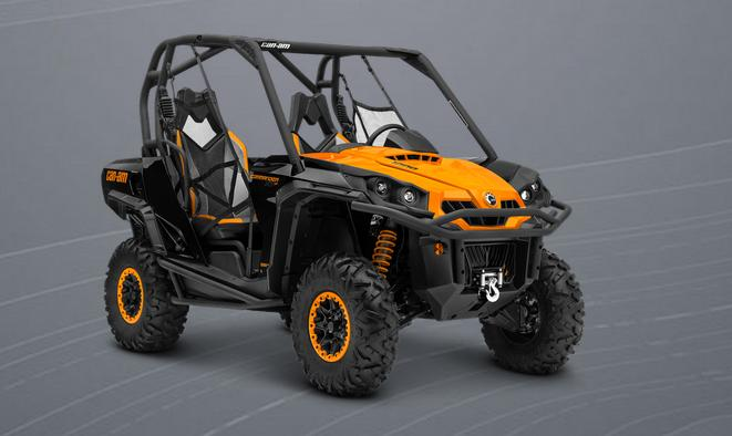 can am brp commander 1000 xt p 2014 2015 autoevolution. Black Bedroom Furniture Sets. Home Design Ideas