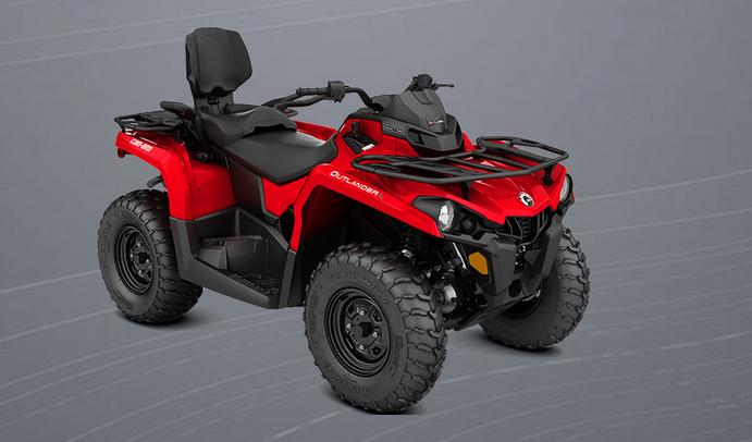 can am brp outlander l 450 max 2014 2015 autoevolution. Black Bedroom Furniture Sets. Home Design Ideas