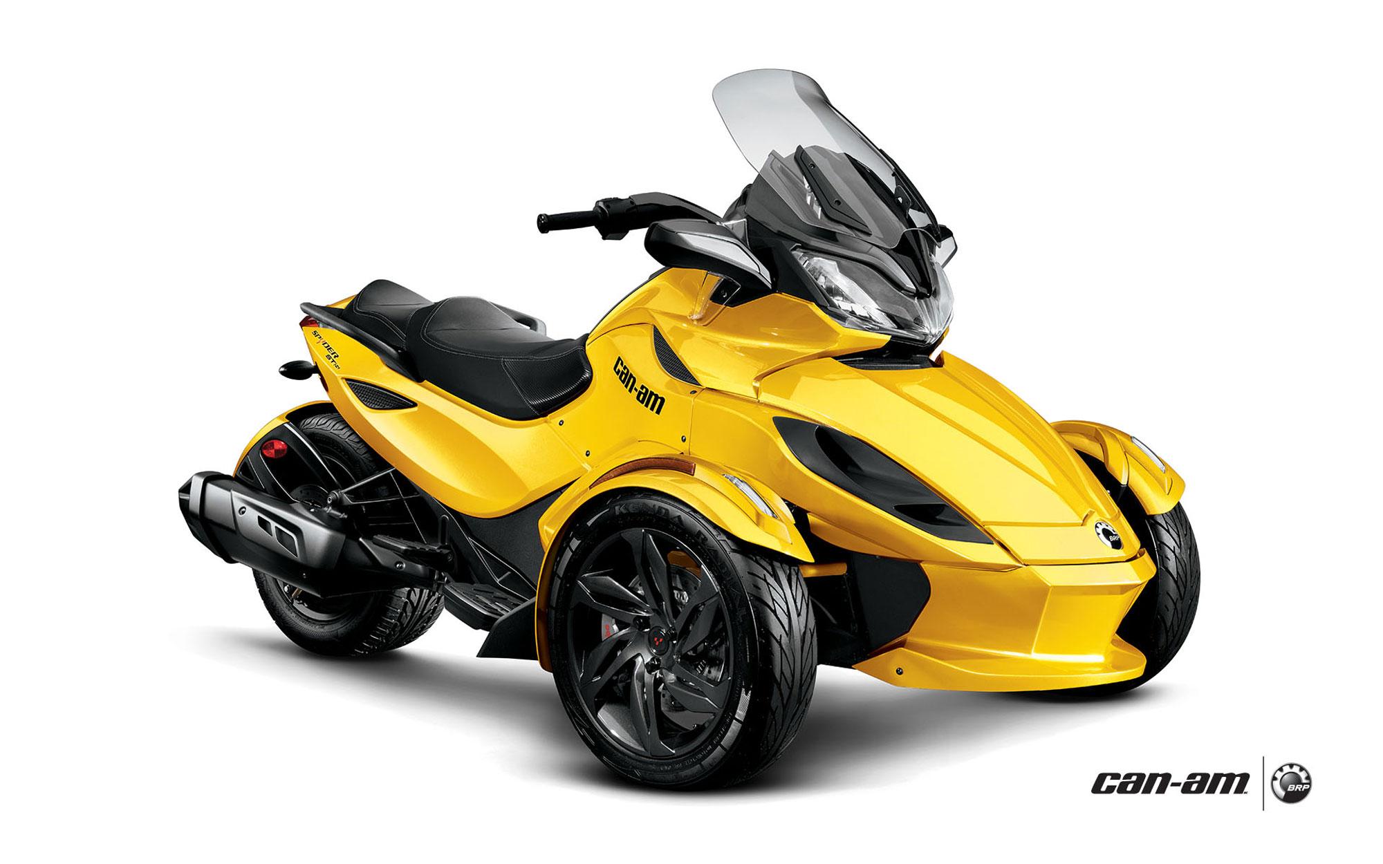 CAN-AM/ BRP Spyder RT specs - 2009, 2010 - autoevolution