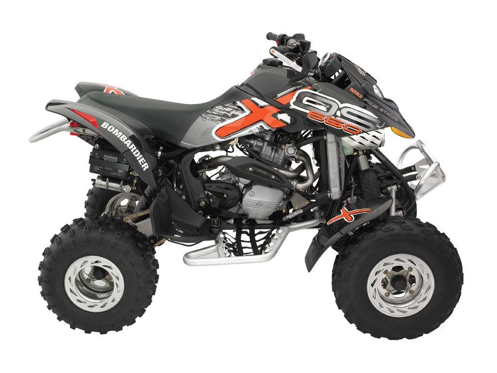 CAN-AM/ BRP Bombardier DS650 X (2005 - 2006) ...