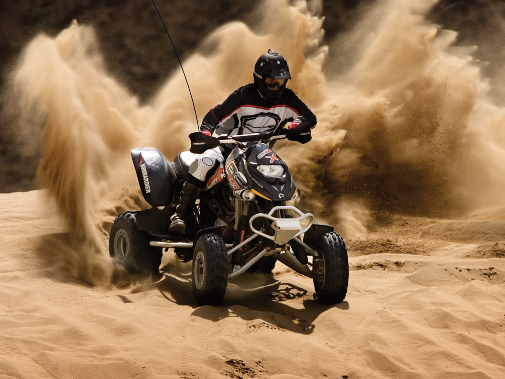 ... CAN-AM/ BRP Bombardier DS650 X (2005 - 2006) ...