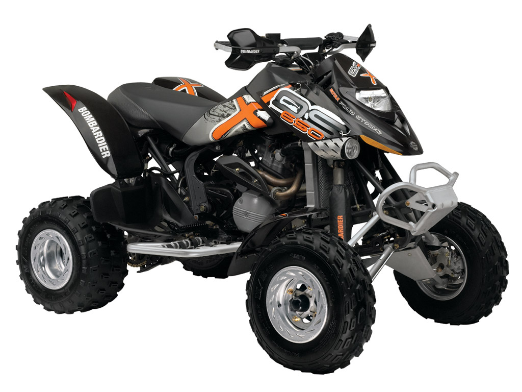 CAN-AM/ BRP Bombardier DS650 X (2004 - 2006) ...