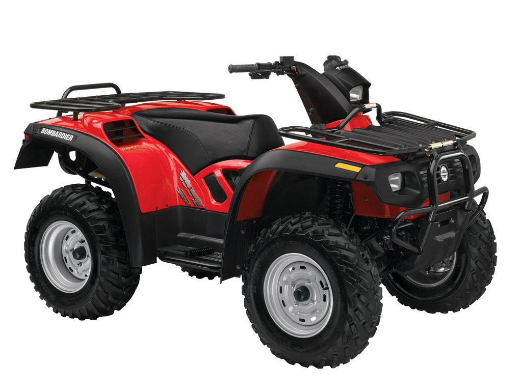Can-am   Brp Bombardier Traxter 500 5 Speed Auto-shift - 2004  2005