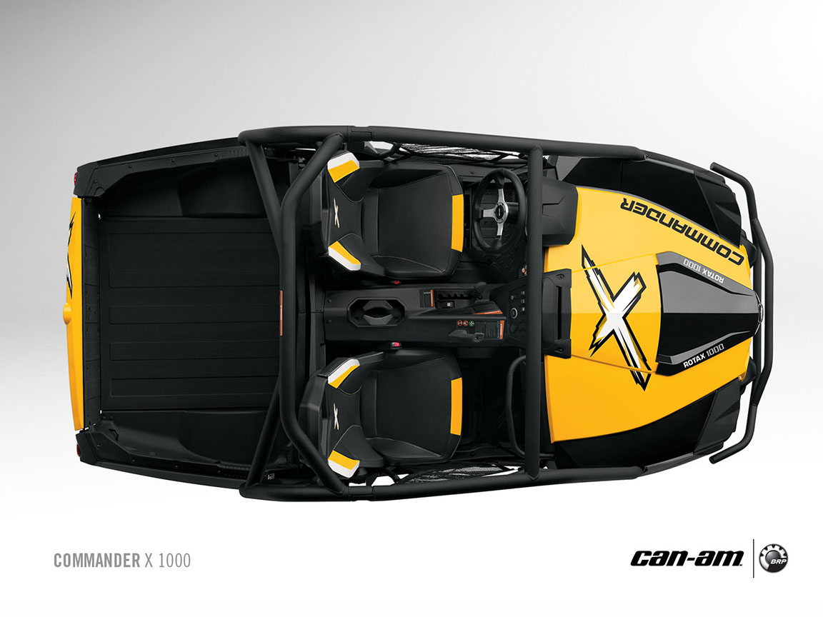 Fox Auto Parts >> CAN-AM/ BRP Commander X 1000 specs - 2012, 2013 ...