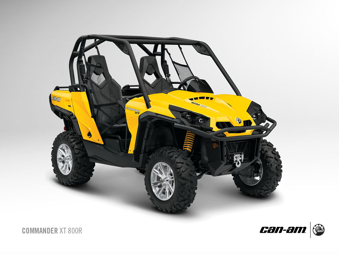 can am brp commander xt 800r 2012 2013 autoevolution. Black Bedroom Furniture Sets. Home Design Ideas