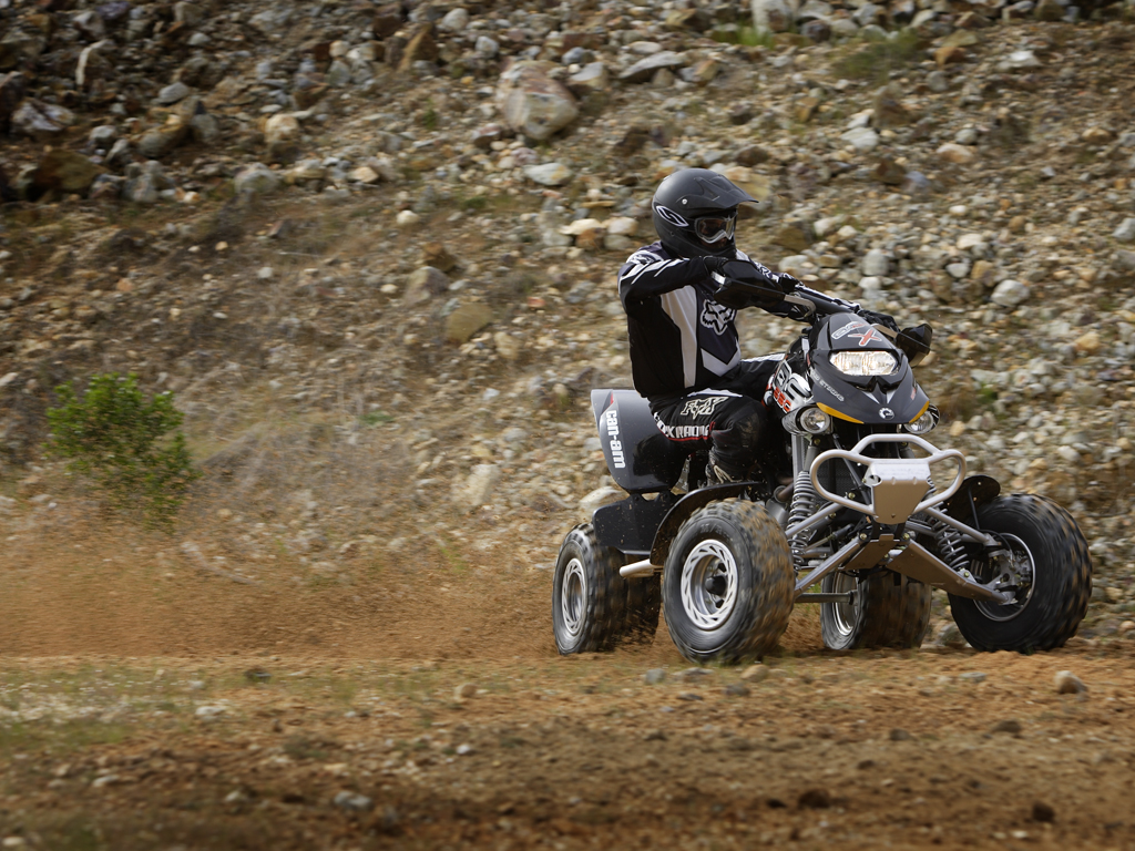 ... CAN-AM/ BRP Bombardier DS650 X (2006 - 2007) ...