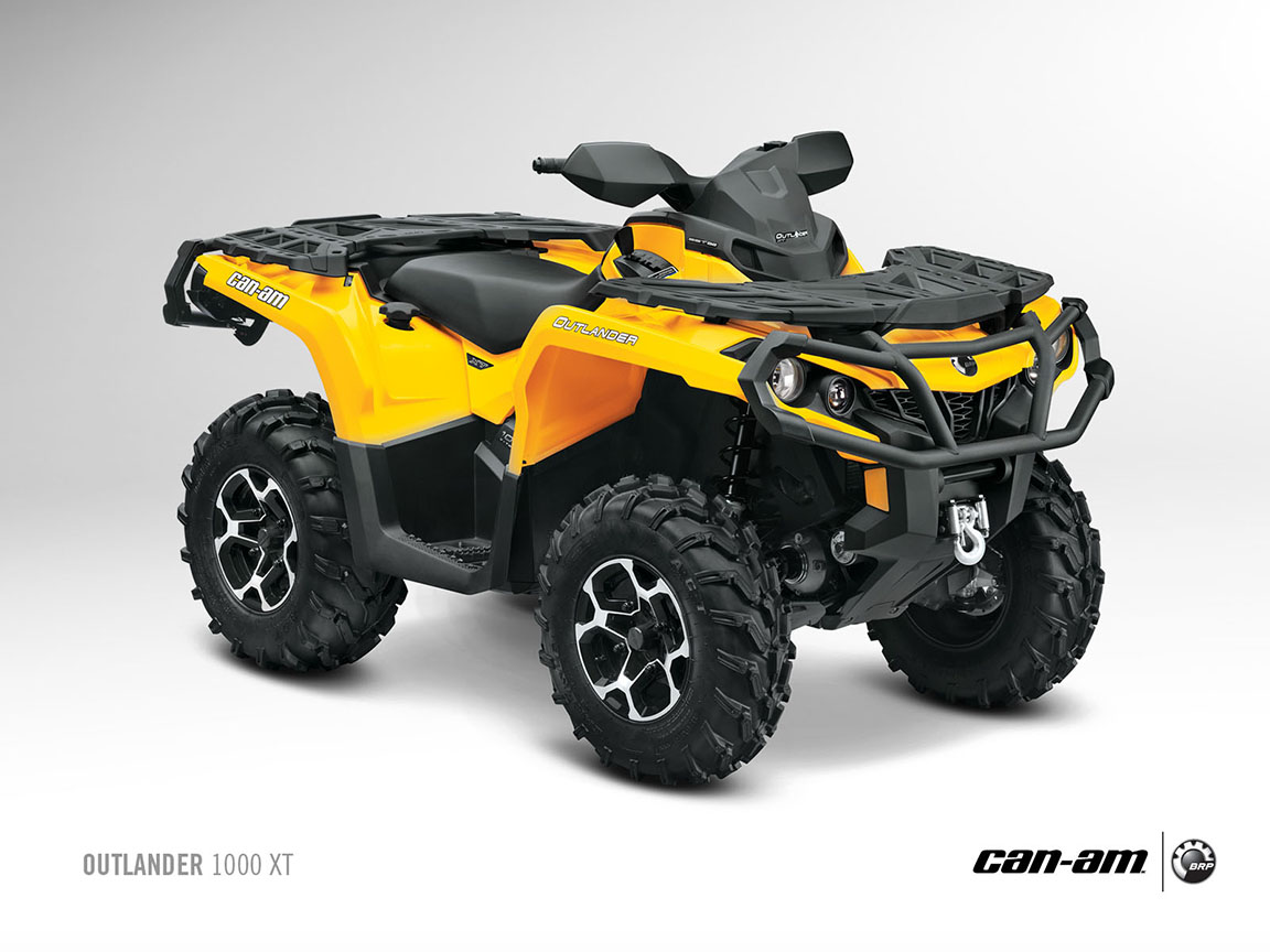 can am brp outlander 1000 xt specs 2012 2013 autoevolution. Black Bedroom Furniture Sets. Home Design Ideas
