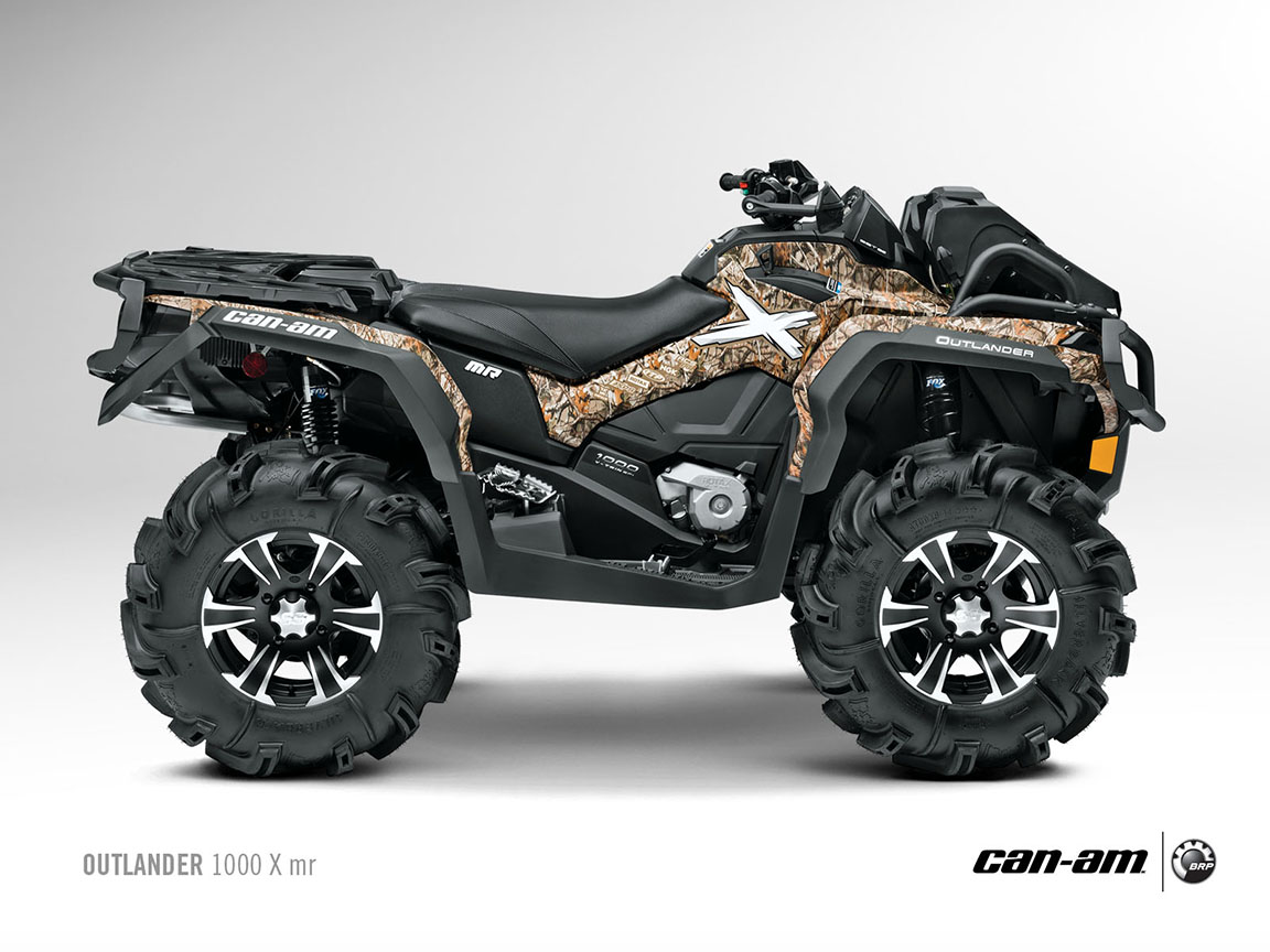 can am brp outlander 1000 x mr specs 2012 2013 autoevolution. Black Bedroom Furniture Sets. Home Design Ideas