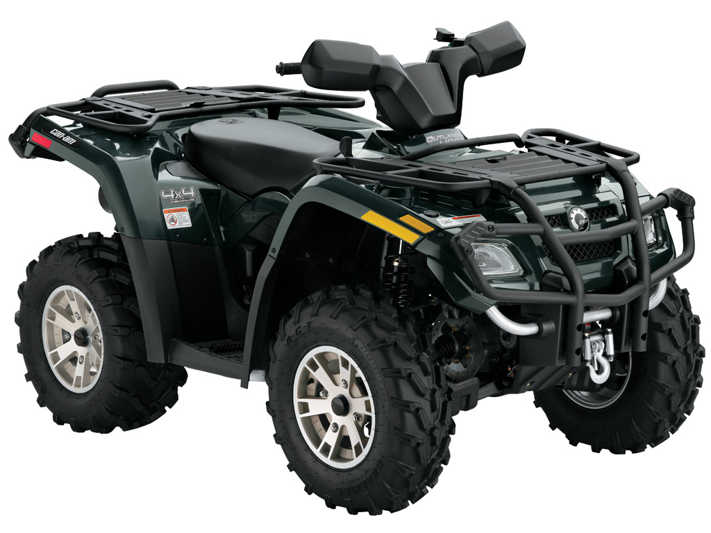 2007 Can Am Outlander 650 Owners Manual