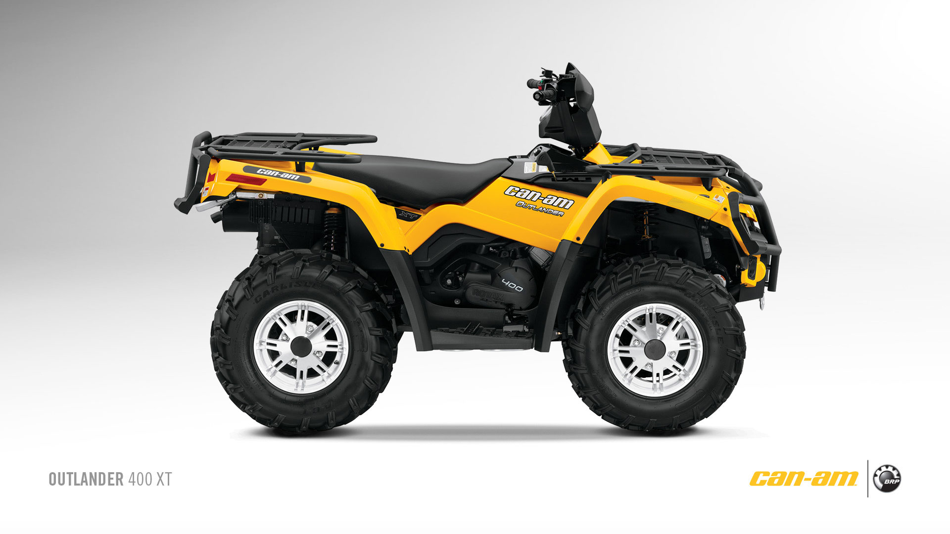 Can-am   Brp Outlander 400 Xt - 2010  2011