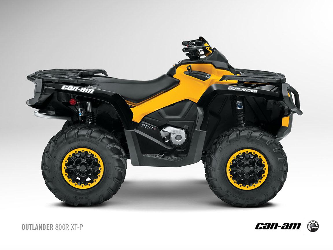 CAN-AM/ BRP Outlander MAX 800R XT specs - 2012, 2013