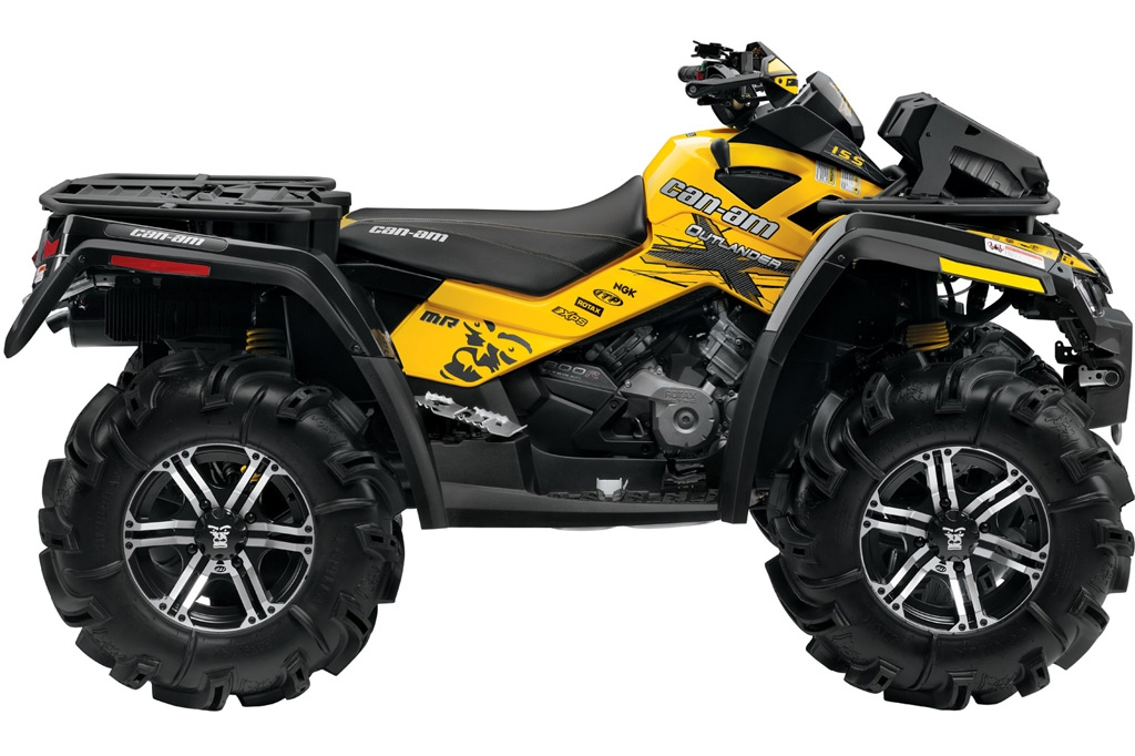 Can-am   Brp Outlander 800r X Mr Specs