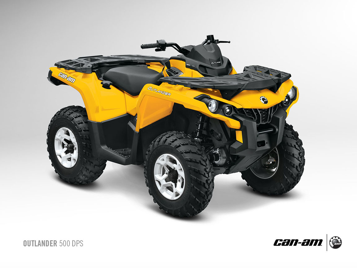 can am brp outlander dps 500 specs 2012 2013 autoevolution. Black Bedroom Furniture Sets. Home Design Ideas
