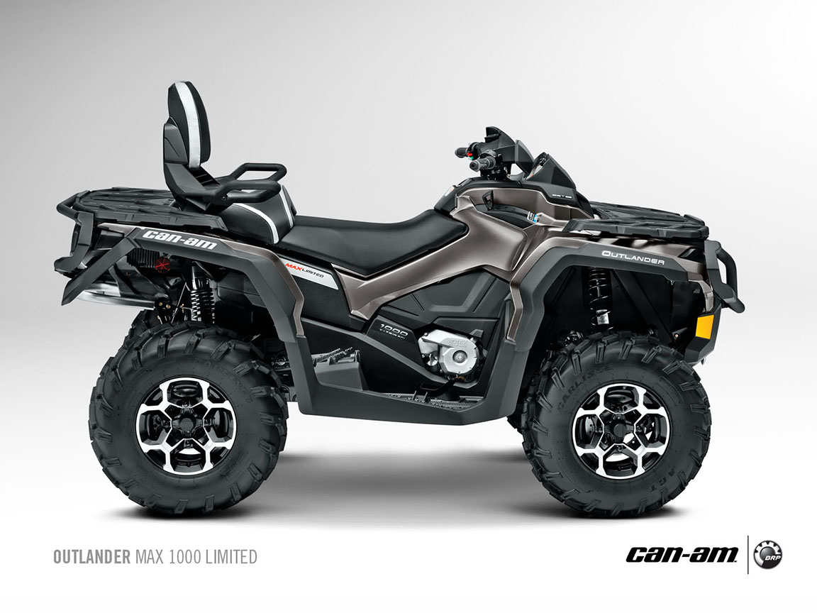 can am brp outlander max 1000 limited specs 2012 2013 autoevolution. Black Bedroom Furniture Sets. Home Design Ideas