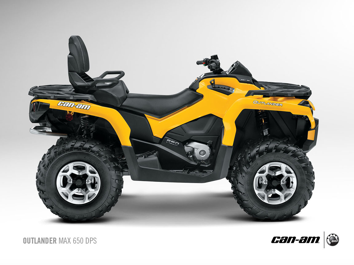 can am brp outlander max 650 dps 2012 2013 autoevolution. Black Bedroom Furniture Sets. Home Design Ideas