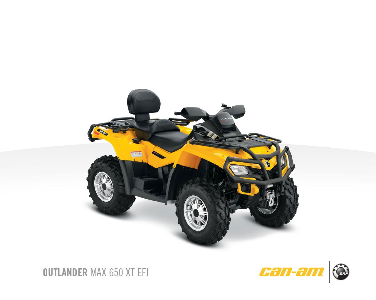 Can-am   Brp Outlander Max 650 Xt Specs - 2010  2011