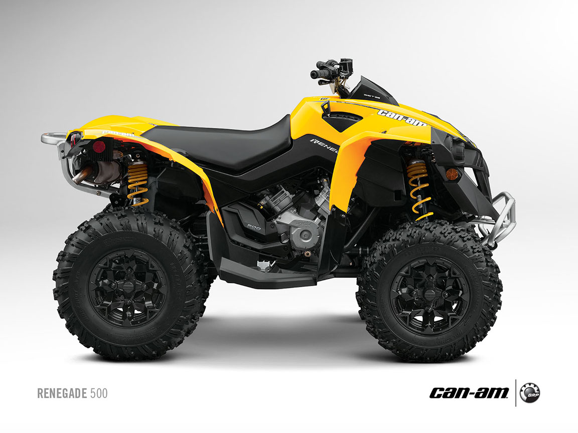 can am brp renegade 500 specs 2012 2013 autoevolution. Black Bedroom Furniture Sets. Home Design Ideas