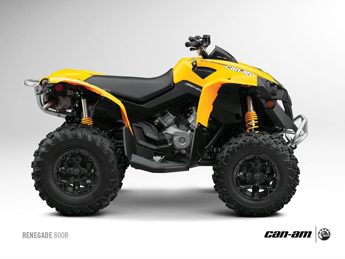 can am brp renegade 800r 2012 2013 autoevolution. Black Bedroom Furniture Sets. Home Design Ideas