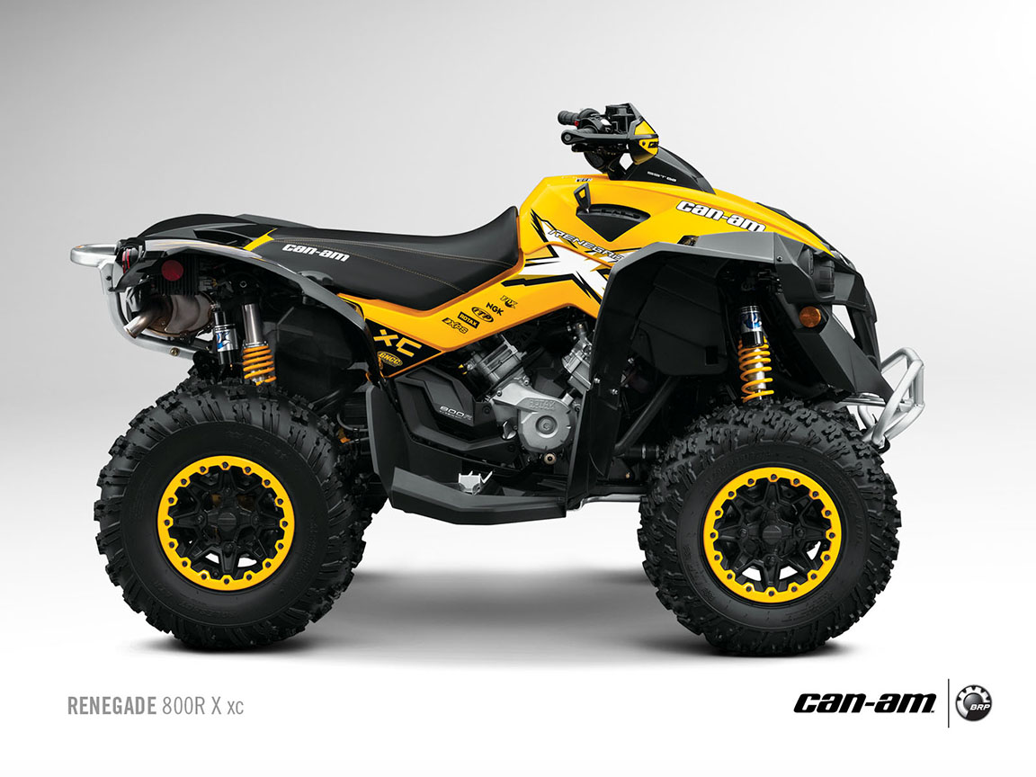 can am brp renegade 800r x xc 2012 2013 autoevolution. Black Bedroom Furniture Sets. Home Design Ideas