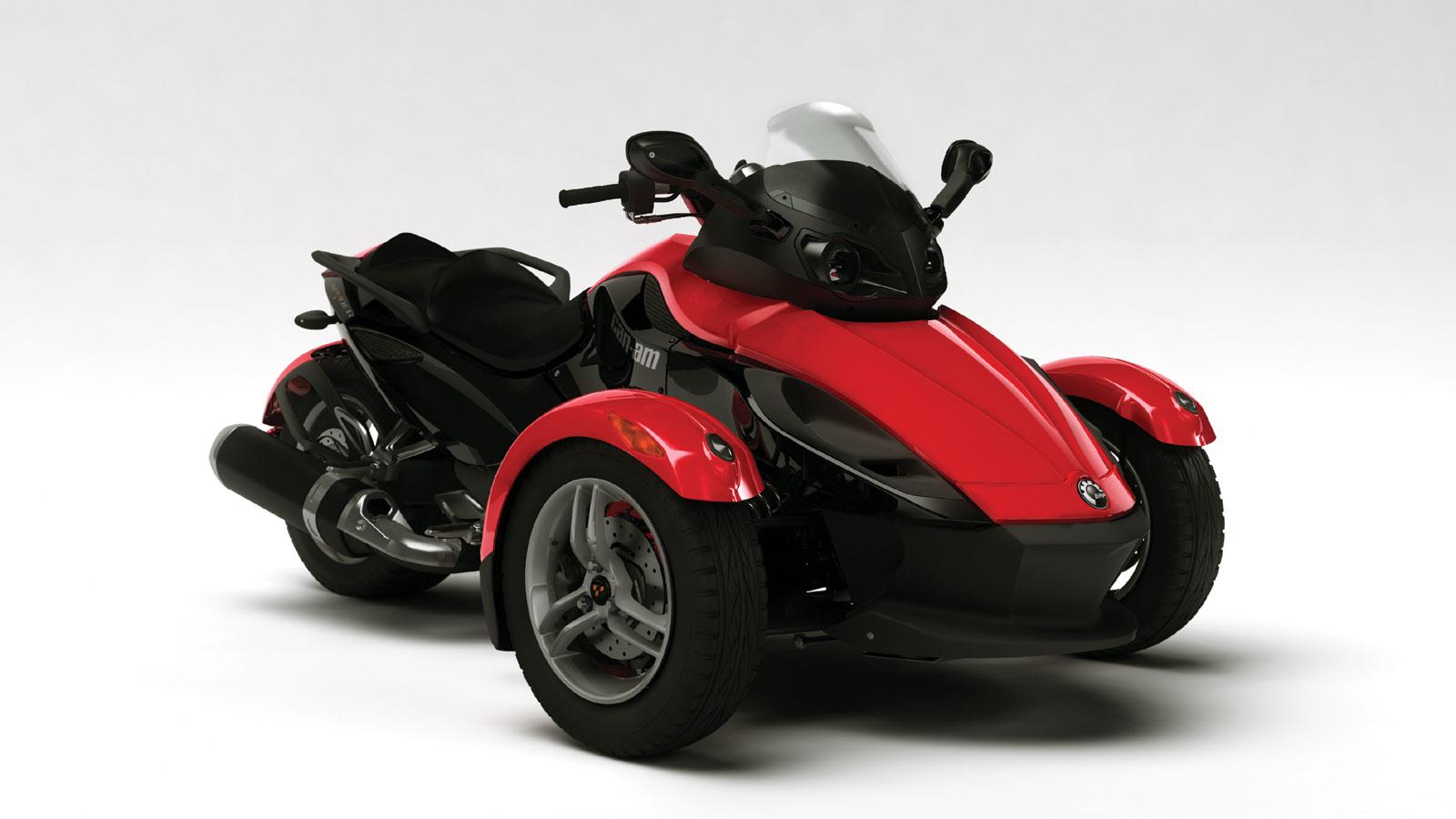 can am brp spyder roadster se5 2007 2008 autoevolution. Black Bedroom Furniture Sets. Home Design Ideas