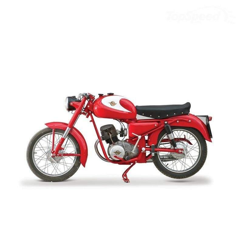 DUCATI 125 CC SPORT specs - 1957, 1958, 1959, 1960 ...