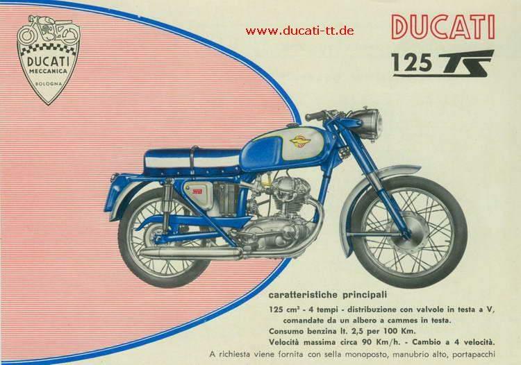 ducati 125 ts specs 1961 1962 1963 autoevolution. Black Bedroom Furniture Sets. Home Design Ideas