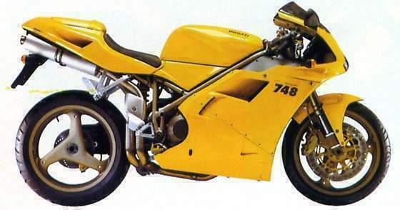 DUCATI 748 B... Ducati 748 Specs