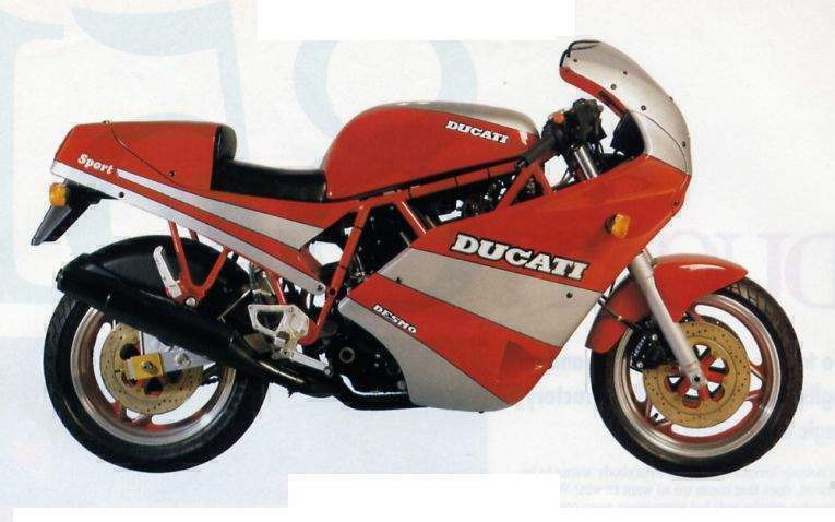 Ducati 750 Sport Specs 1988 1989 Autoevolution