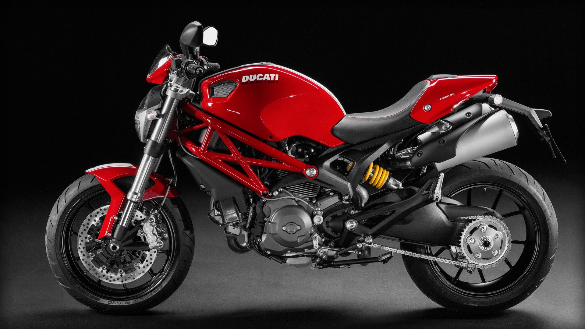 Ducati Monster 796 Corse Stripe 2014 on evolution engine