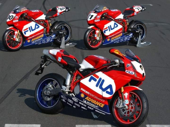 Ducati R Fila Specs