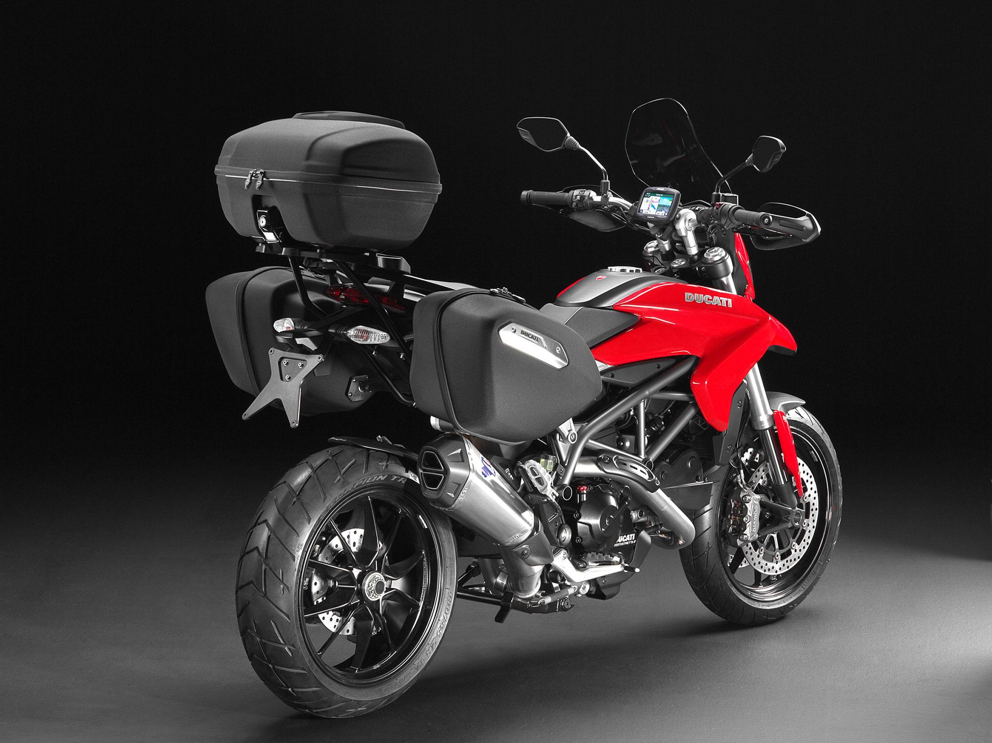 Ducati Monster Touring Screen