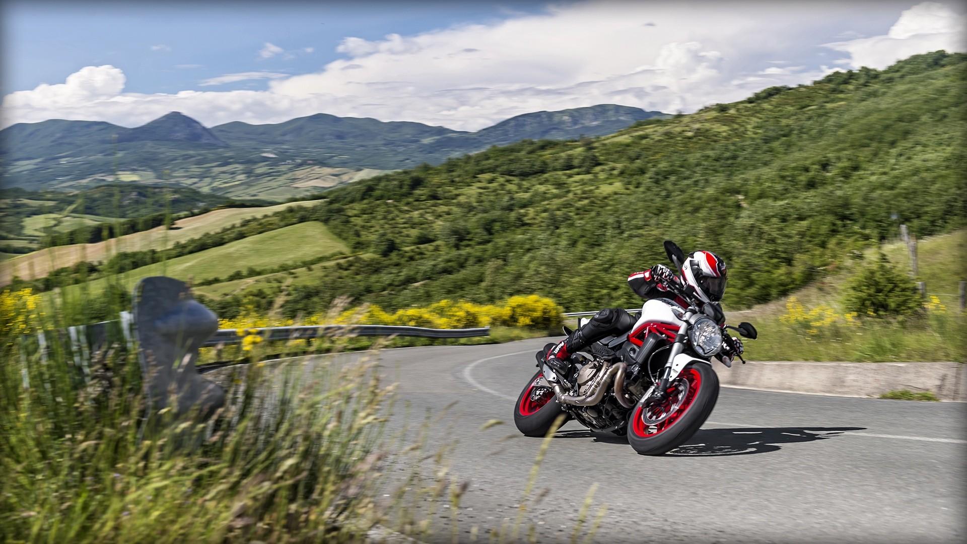 Ducati Monster Demo Ride Review Motorcycle Melee