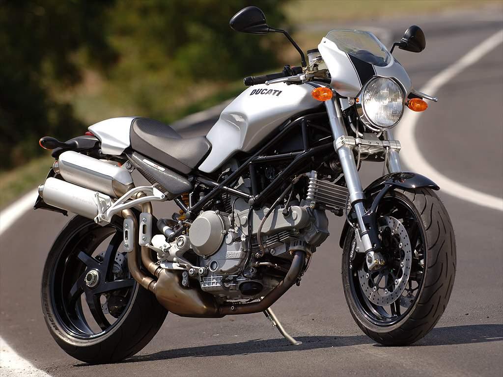 2008 Ducati Monster S2R 1000 - Moto.ZombDrive.COM