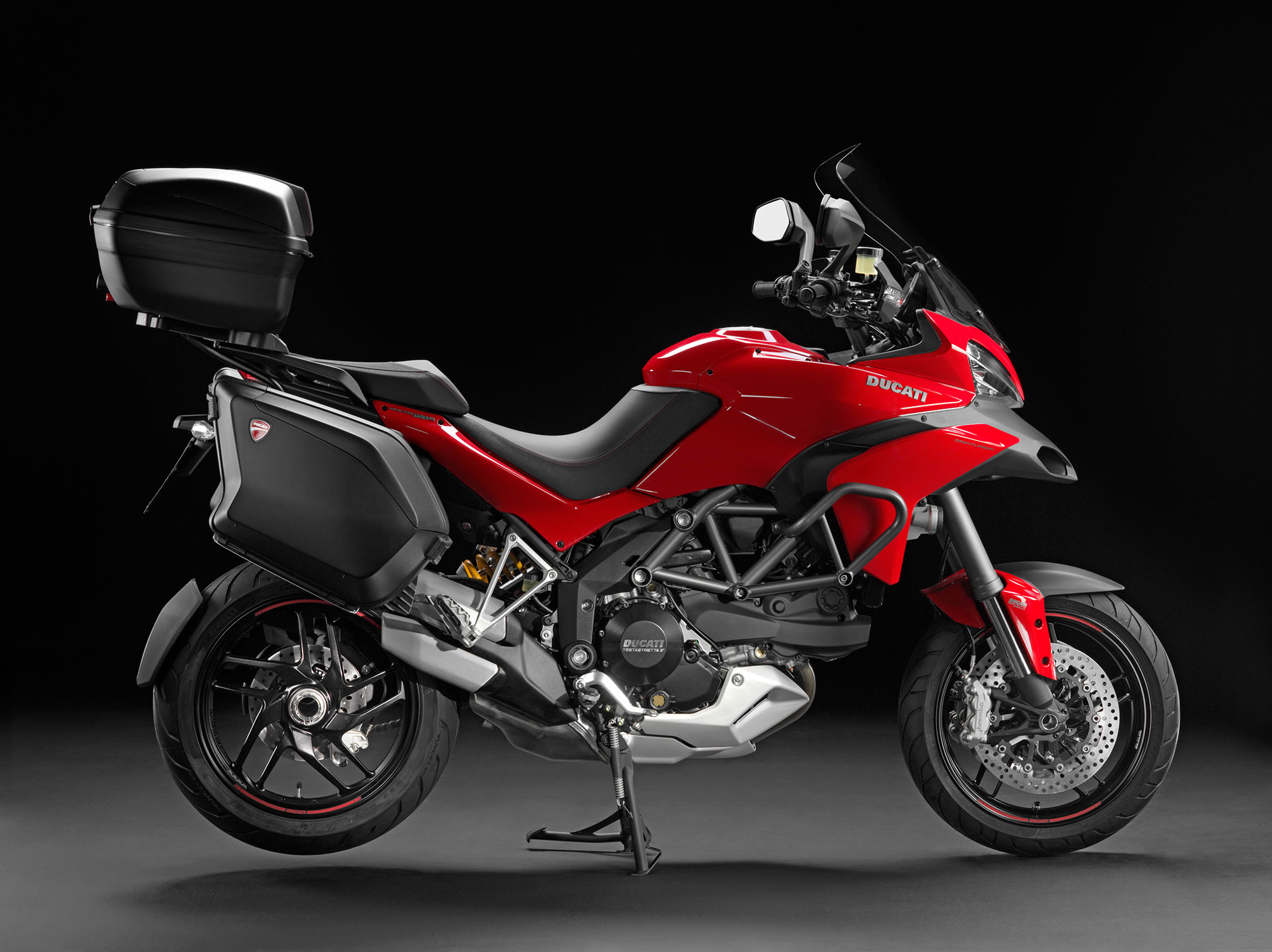 Ducati Multistrada S Touring Backrest
