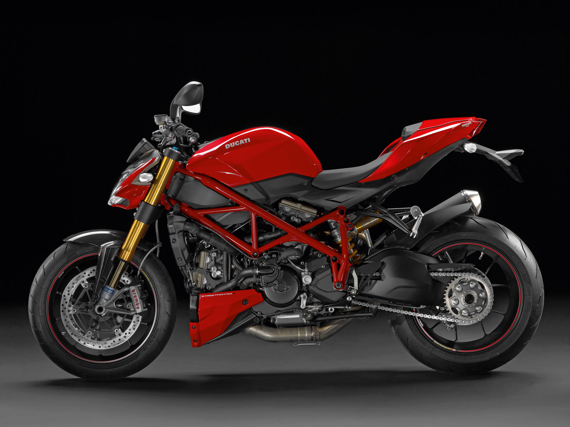 Ducati Streetfighter  Traction Control