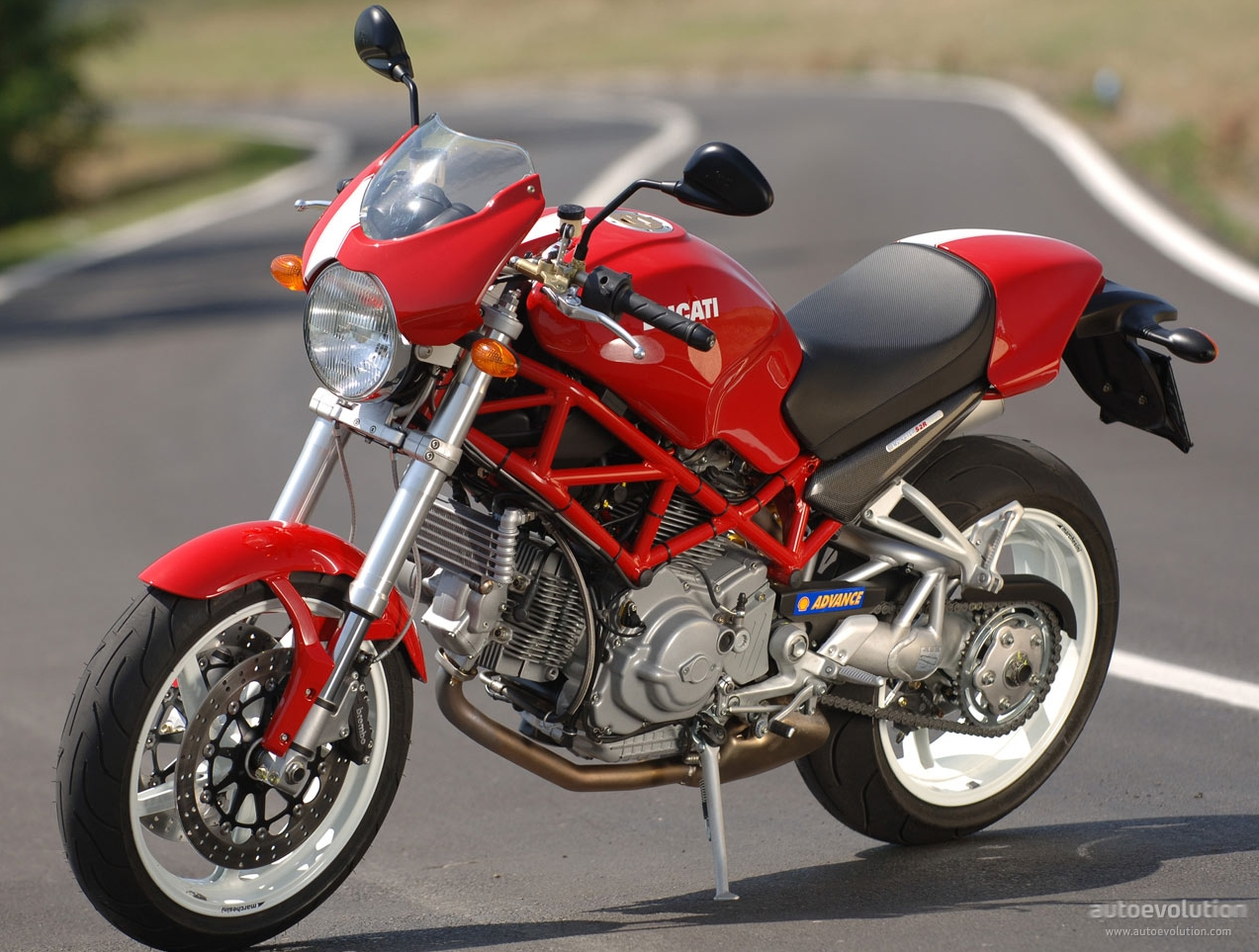 Ducati Hypermotard With Knobbies