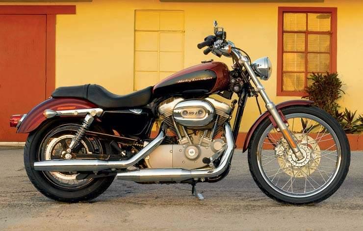 harley davidson 1200 sportster custom 2005 2006. Black Bedroom Furniture Sets. Home Design Ideas