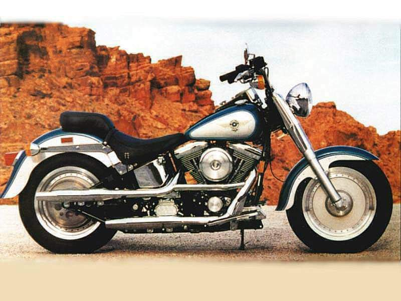 Harley Davidson Fat Boy Specs 1998 1999 Autoevolution Fatboy Pictures