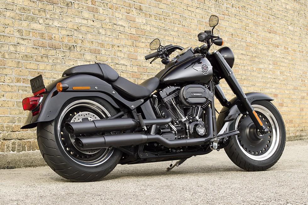 2018 Fat Boy Harley-Davidson USA