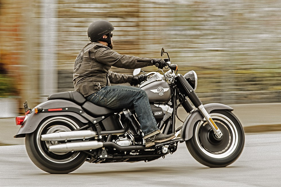 Harley Davidson Fat Boy Special on Harley Davidson Twin Cooled Engine